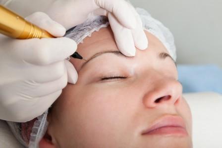 Виды перманентного макияжа брови